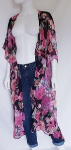 Betsey Johnson Floral Duster